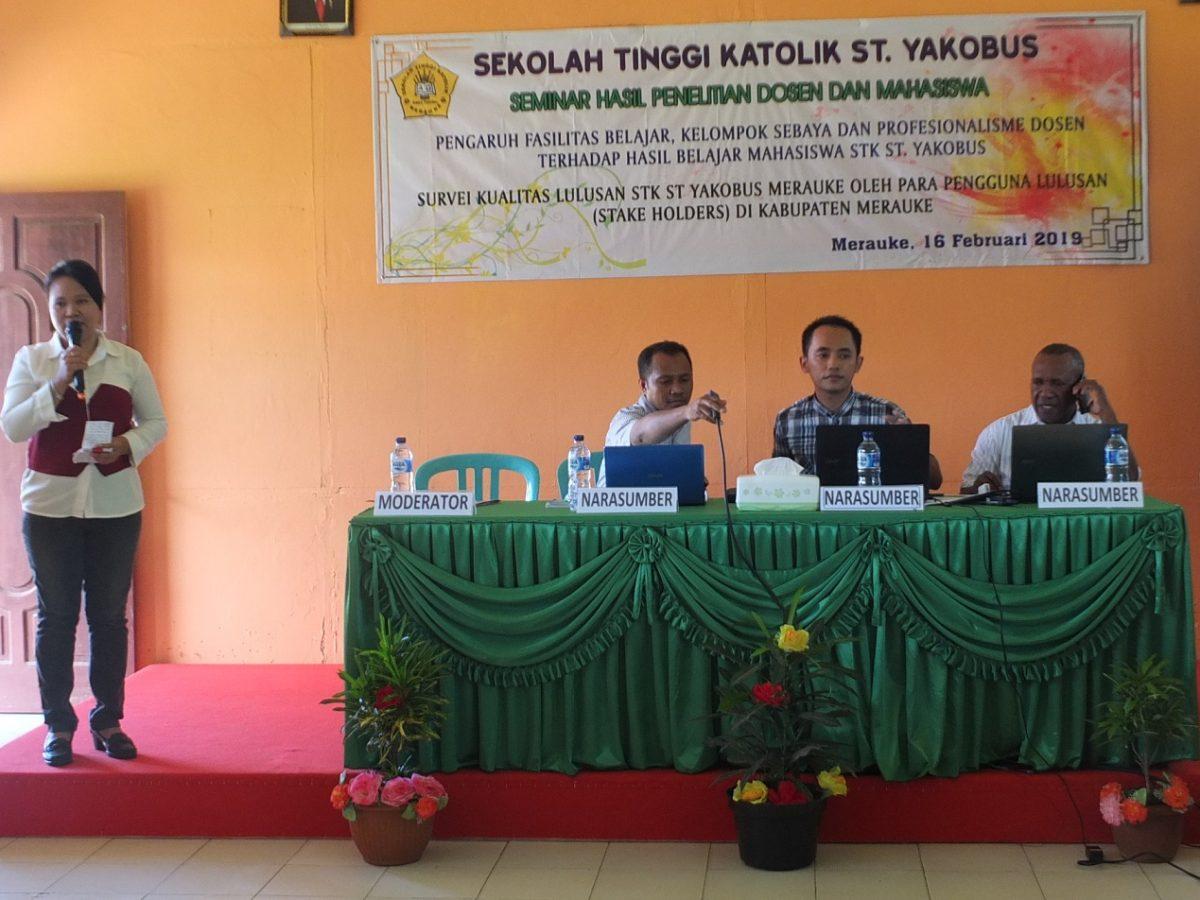 Seminar Penelitian Dosen
