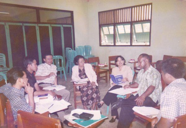 Grup Discussion Pada Saat Proses Visitasi Tim Ahli Sanata Dharma
